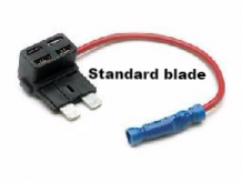 &quot; ADD A CIRCUIT&quot; Standard fuse blade size, add a circuit fuse holders   <br>ALT/FH450-02